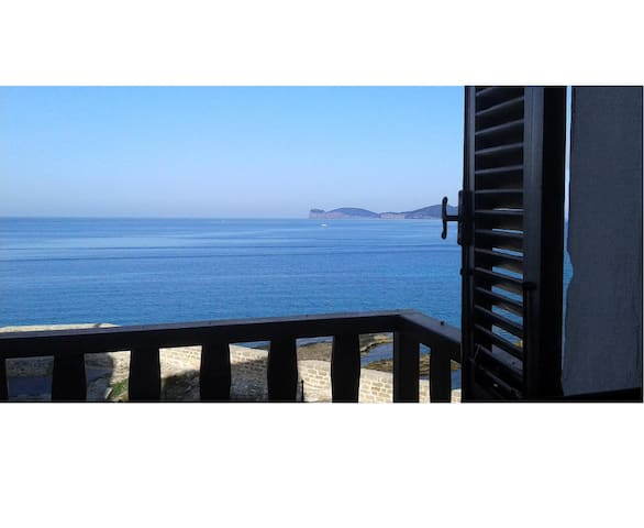 Alguerhome Casa Blu, a view on the sea - Alghero - Apartemen