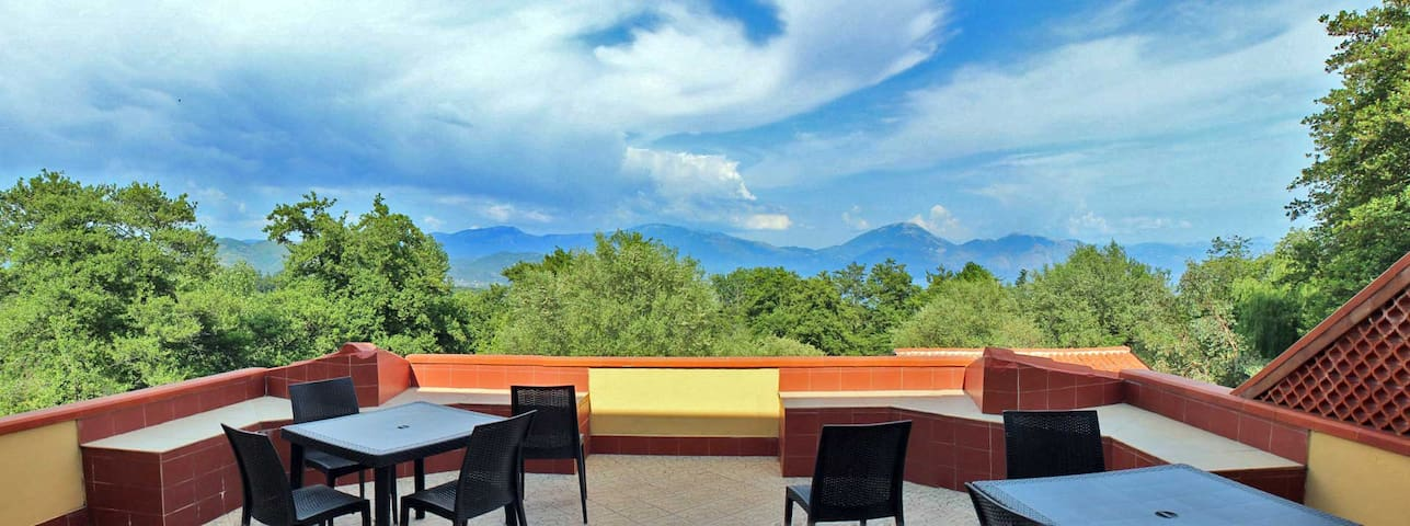 Appartamento con terrazza panoramica - San Giovanni A Piro - Lägenhet