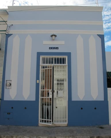 The cute and pretty house in Mérida