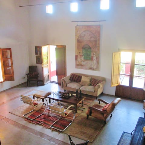 Beautiful rooms at Finca al-manzil - Montánchez - Bed & Breakfast