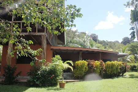 """The newly remodeled yet still with past Pavones charm, Casa Paraiso is the famous """"Home at the end of the road with the perfect left (wave)"""" and former home of novelist Allan Weisbecker, In Search of Captain Zero & Cosmic Banditos."""