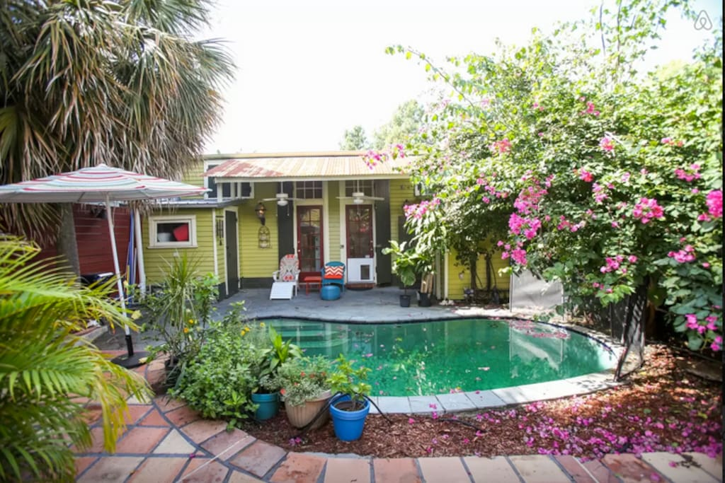 Marigny Bungalow Getaway W Private Pool Bungalows For Rent In New Orleans Louisiana United