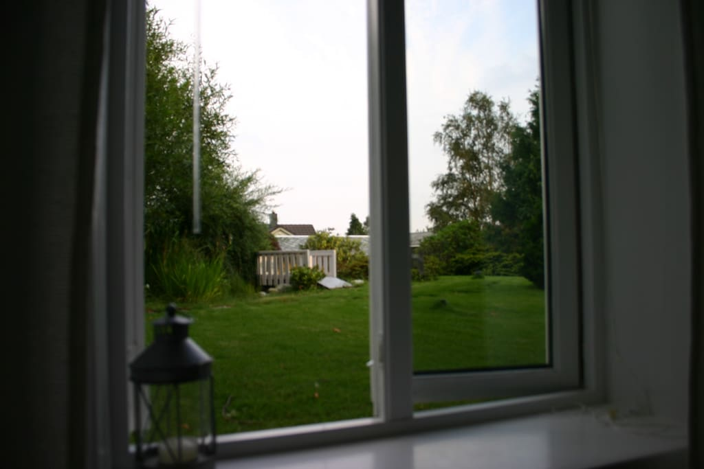 Your bedroom window