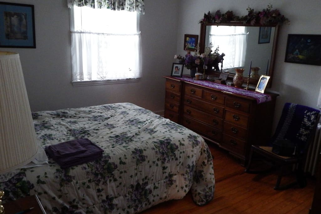 Fully furnished master bedroom