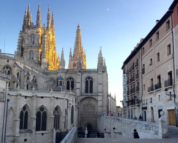 Apartamento rozando catedral - WIFI - Burgos - Lägenhet