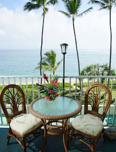 Hawaii Condo ON THE BEACH! Sleeps 4 - Punaluu - Lakás