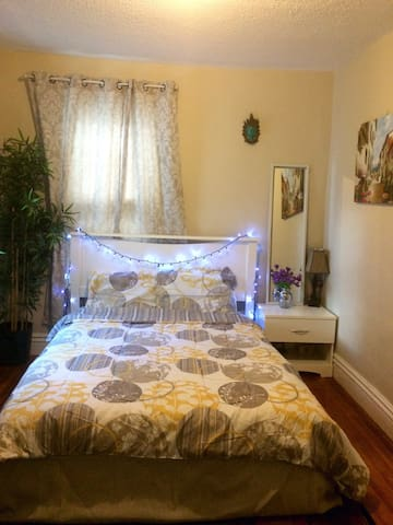 Charming bedroom @ 19thCentury home - Lawrence - Casa