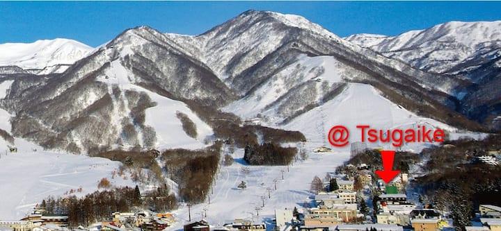 @tsugaike ski in/out lodge