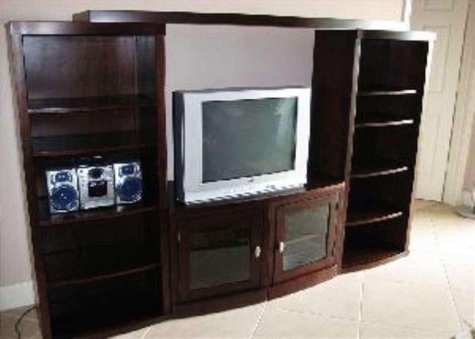 TV and Stereo