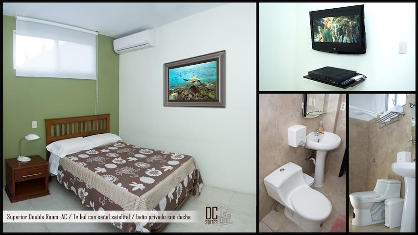 superior double room - Guayaquil - Rumah