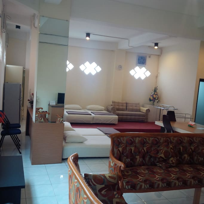 Entire Living area with AC.