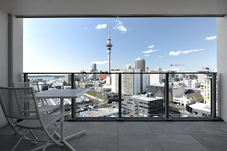 Heart of Auckland, City Center View