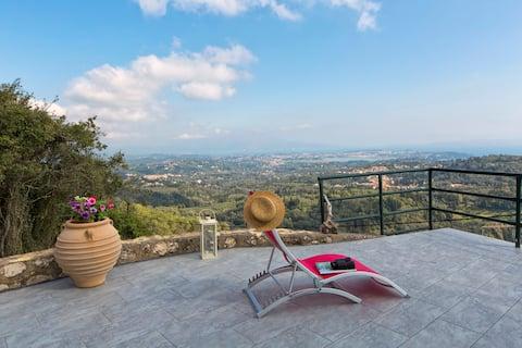 Palataki  Corfu Panoramic Sea View