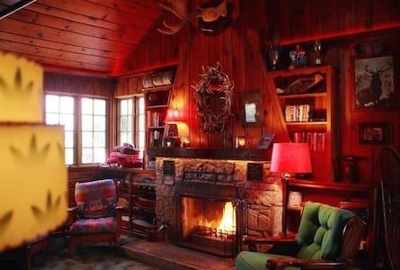 Vintage 1940's Lodge, Northwoods - Boulder Junction - Ház