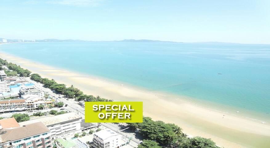Nice 1 Bedroom w/pool & near beach! - Pattaya - Apartment