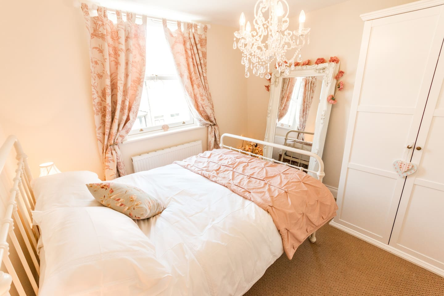 A lovely shot of our first floor double bedrom