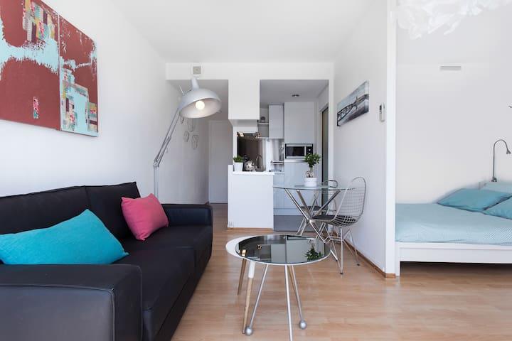 Hyper centre:Tout confort &Terrasse