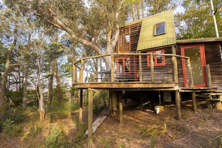 Treehouse in the Blue Mountains - Blackheath - Kabin