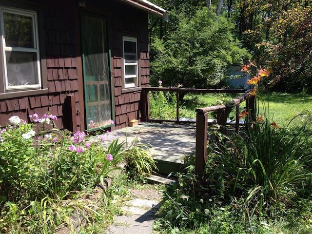 Cottage in village & on rail trail - New Paltz - Cabin