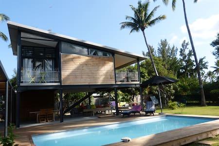bungalow sur pilotis