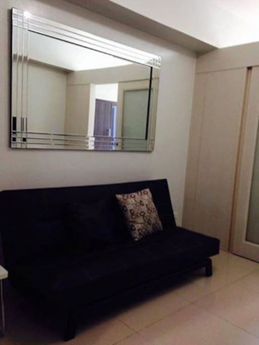 Fully-furnished; fully airconditioned with wifi and cable tv