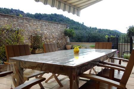 Casa de pueblo con vistas y terraza - Sot de Ferrer - Rumah