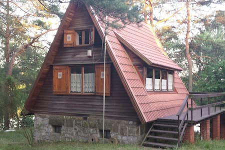 Domek nad jeziorem Marksoby - Marksewo