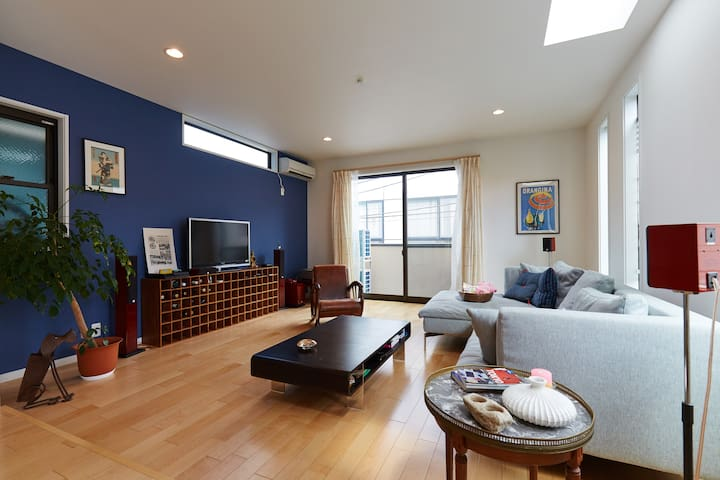 Spacious luxury home for family :-) - Meguro-ku - Huis