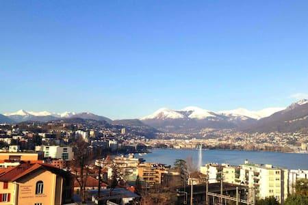 camera matrimoniale Lugano Paradiso - Paradiso