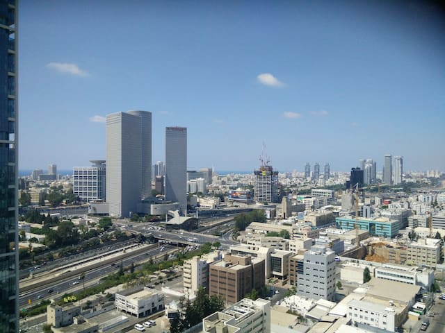 Stylish APT, 25th FL, Amazing View - Tel Aviv-Yafo - Apartment