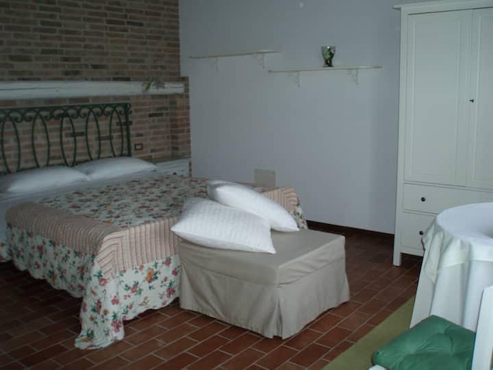 camera in casale di campagna