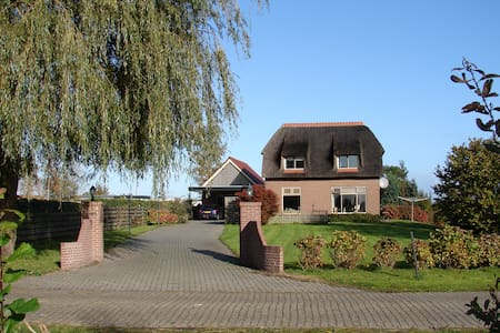 Room with double bed, Giethoorn 10 min