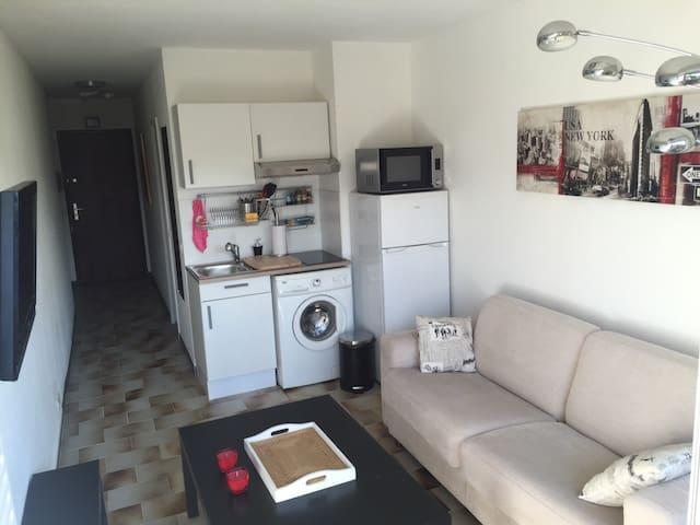 Studio idéal pour vacances de rêves - Mandelieu-La Napoule - Apartment