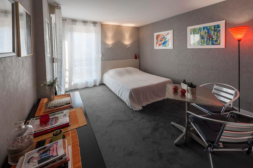 ch ind pendante chez l 39 habitant sdb wc priv s apartments for rent in lyon rh ne alpes france. Black Bedroom Furniture Sets. Home Design Ideas