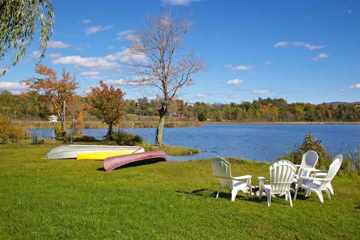 Lakefront Camp - Rural Vermont Town - Monkton - Cabaña