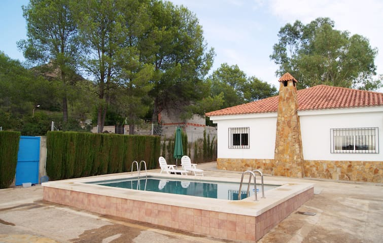 Comfortable holidays near to Xativa - Barxeta - 一軒家