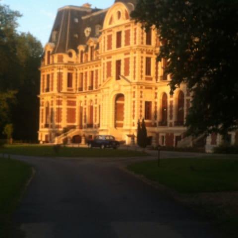 Bel appartement dans château - Saint-Martin-Longueau - Wohnung