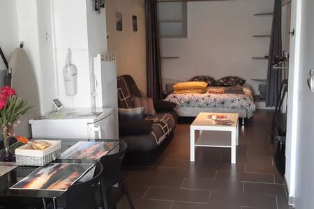 Studio avec cour en centre ville - Le Boulou - Daire