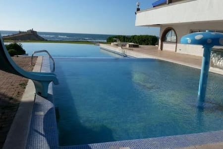 appartement à beauty beach mohemadia pied sur mer - Mohammedia - 公寓