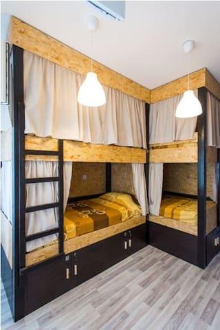 Room L6 - dorm shared bathrooms