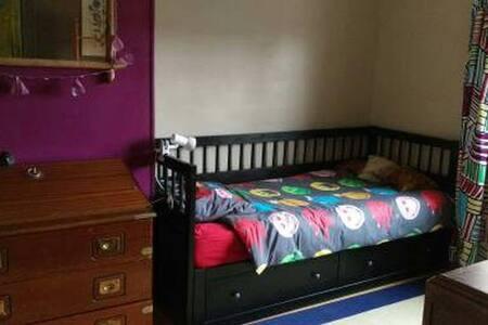 1 chambre avec lit simple - Бове - Дом