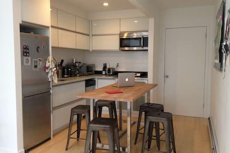 Loft with garden  - Williamsburg - Brooklyn - Apartment