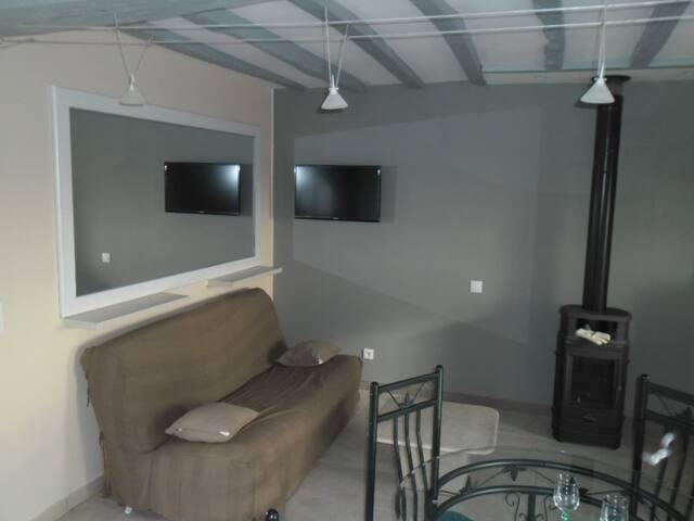 Gîte confortable, 1 chambre,  de 1 à 4 personnes