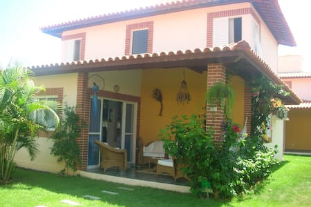 Paraiso Dos Corais, casa sul mare - Paripueira - Rumah