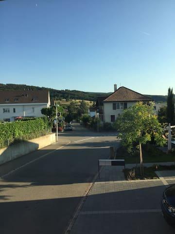 Charmante Wohnung im Dorfkern - Dornach