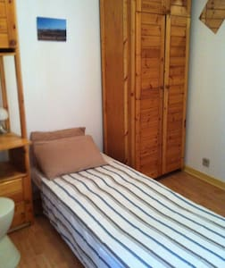 Chambre privée 1 personne - Grenoble - Bed & Breakfast