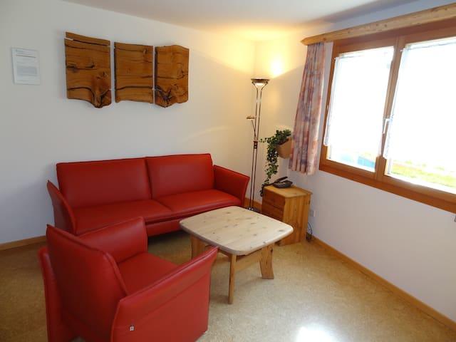 Gemütliche 2-Zimmer Wohnung Samedan - Samedan - Leilighet