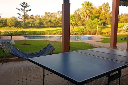 Belle villa avec piscine sur Golf - Ben Slimane - Vila