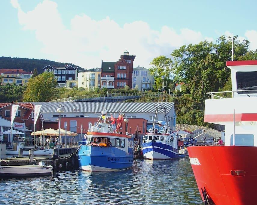 Der schönste Hafen von Rügen