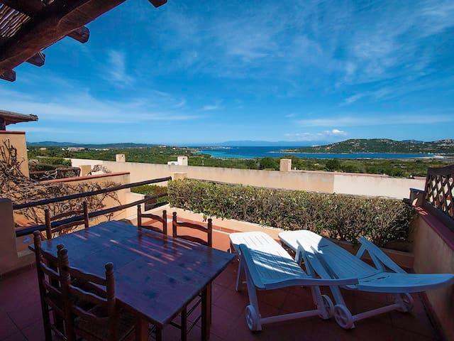 """Villetta """"Blue Sea"""" vista mare - Palau - Lägenhet"""